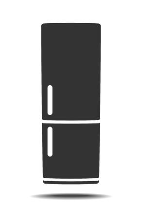 door handle: Fridge vector icon