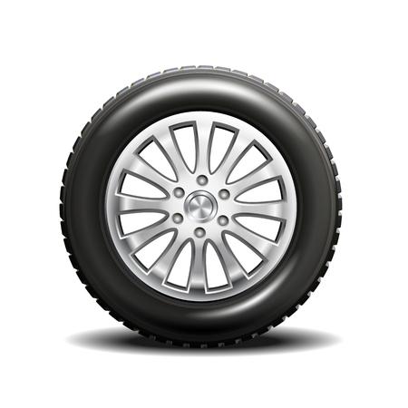 rim: Single car tire with rims