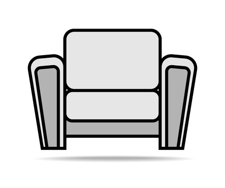 Living Room Armchair Icon