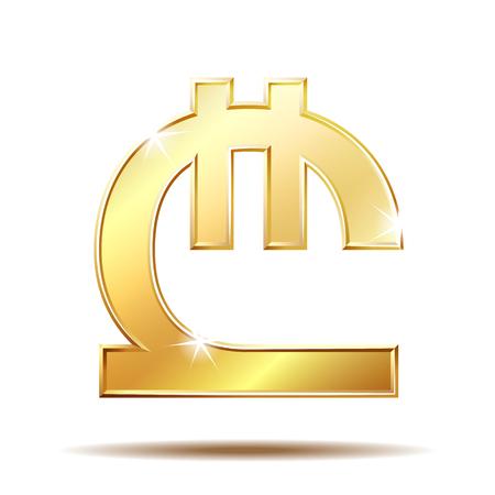 Georgian lari currency symbol