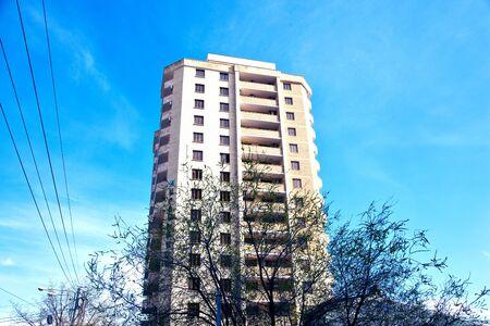 metropole: ender building landscape in blue sky