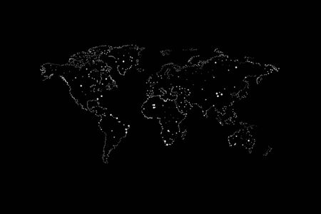 maps of the Earths. world map.
