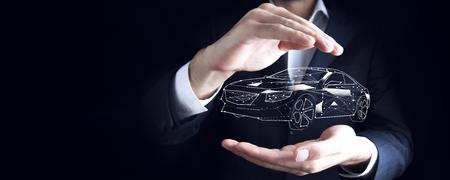 Conceptos de seguro de automóvil y exención de daños por colisión