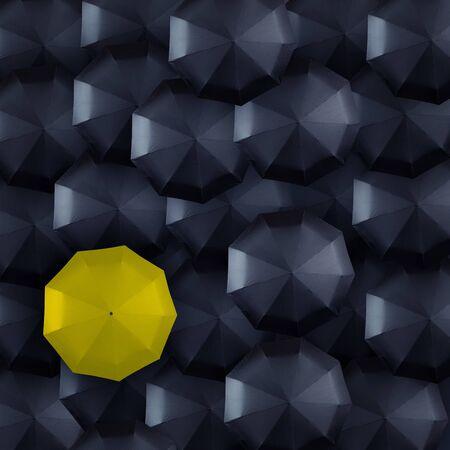 yellow and black umbrella background