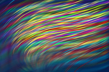 Colorful abstract background, Beautiful rays of light Banco de Imagens
