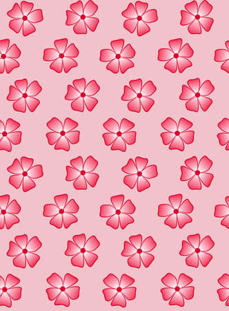 Pink flowers on a pink background. A sample for dressing things for a girl. 일러스트