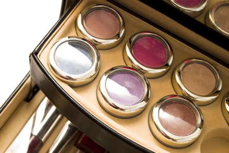 lovemaking: assortment of womens cosmetics