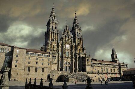 photo de la cathédrale Saint-James, la fin de la Banque d'images