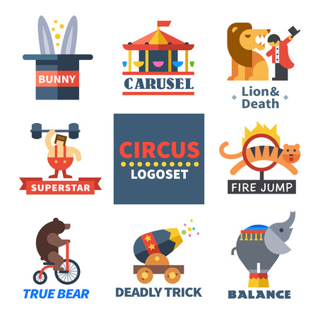circo: Emblemas del circo.