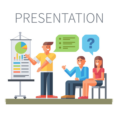presentation people: Presentation. Business training