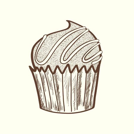 chocolate candy: Cute and sweet hand drawn cartoon sketchy chocolate candy. Illustration