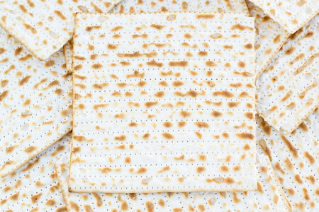 matzot: Matzot for passover celebration with copy space