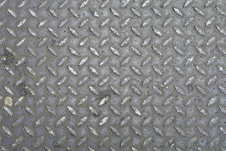 diamond plate: Heavy used Durbar diamond plate metal floor