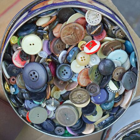 lots: Lots of sewing buttons in the box