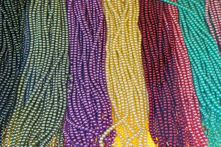 bijoux: Artificial color plastic imitation pearls bijoux jewelry
