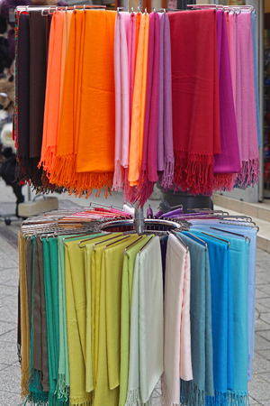 sciarpe: Scarves and shawls wraps in various colours