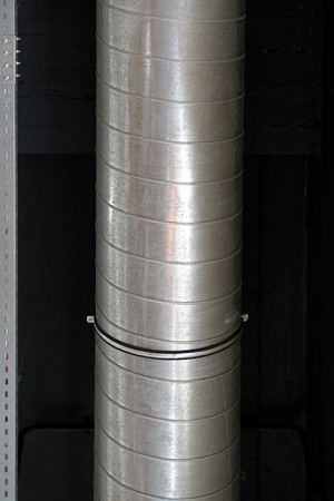 Duct pipe ventilation for air flow
