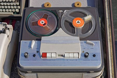 Old reel to reel audio tape recording for sale