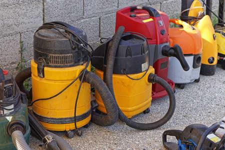 Wet and dry vacuum cleaner machines equipment