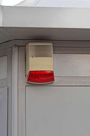 Alarm external unit siren and light