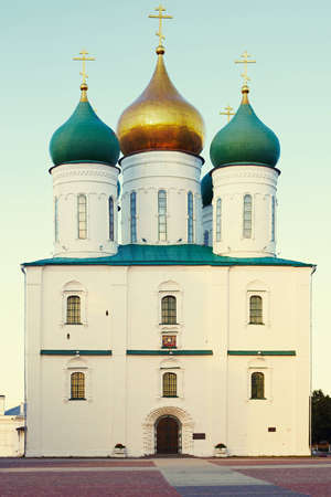 Streetscape -  The Cathedral of the Assumption in Kolomna, Russia