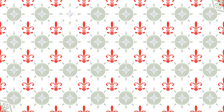 seamless pattern: french lily wallpaper, cover or background. Stock fotó