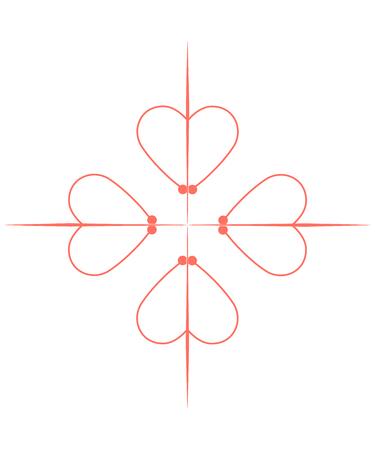 Order of Calatrava Classic Cross isolated vector sign.