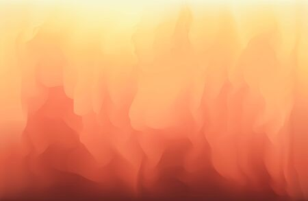 Abstract background in red, orange and yellow gradient colors. Concept of flame, fire, music, motion for mobile apps, ui, banner design, poster decoration Vectores