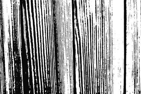 Abstract black and white vector textured vertical wooden boards background. Wood surface texture for banner design decoration, forest illustration wallpaper