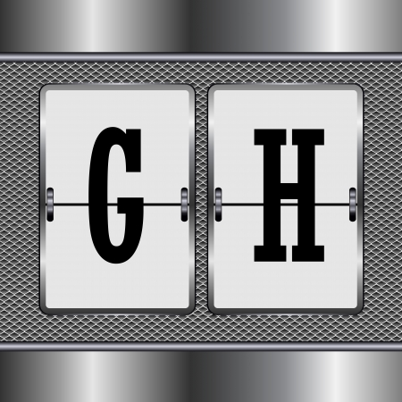 alphabet of mechanical G-H