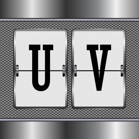 alphabet of mechanical U-V