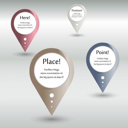 location pointer-vector illustration Illustration