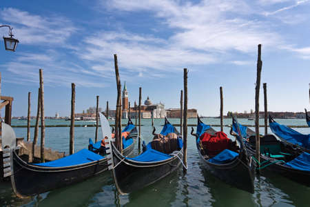 Gondola. Symbol of Venice photo