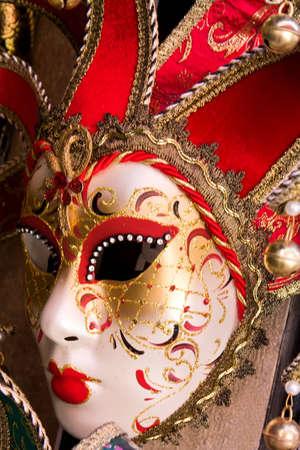 carnivale: Venice carnival red mask