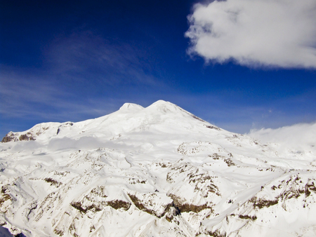 elbrus: View on Elbrus from the Mount Cheget.