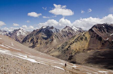 On the descent from the Aconcagua