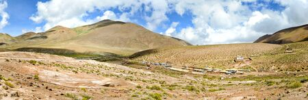 indian village: Indian Village in the Chilean Andes