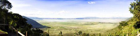 primaeval: Panoramic View of Crater Ngorongoro
