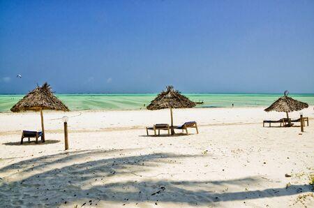 ebb: Beach on Zanzibar at the ebb