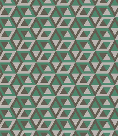 Abstract cube pattern, fully seamless. 3d gray vector geometric wallpaper, cube pattern background.Modern Graphic Design.Optical illusion.