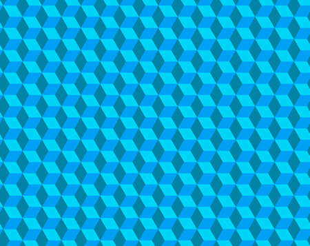 Abstract cube pattern, fully seamless. 3d vector geometric wallpaper, cube pattern background.Modern Graphic Design.Optical illusion
