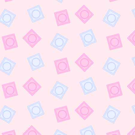 �¡ondom seamless pattern. Stock Illustratie