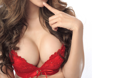 sexy nackte frau: Sch�ne K�rper der Frau im Studio
