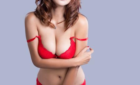 Сексуальная женщина тело - студия выстрел