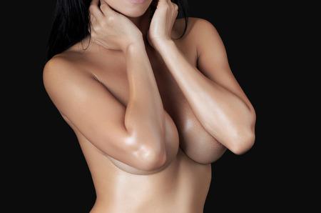 big boobs: Cuerpo de mujer sexy - tiro del estudio