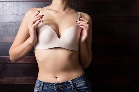 Beautiful slim body of woman Banco de Imagens