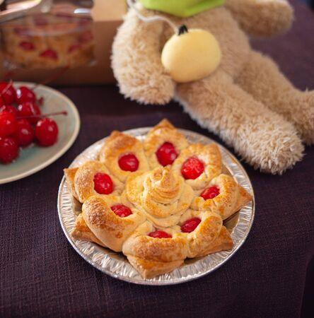 Cherry, Home made cherry pie.