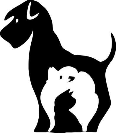 Cartoon pet picture