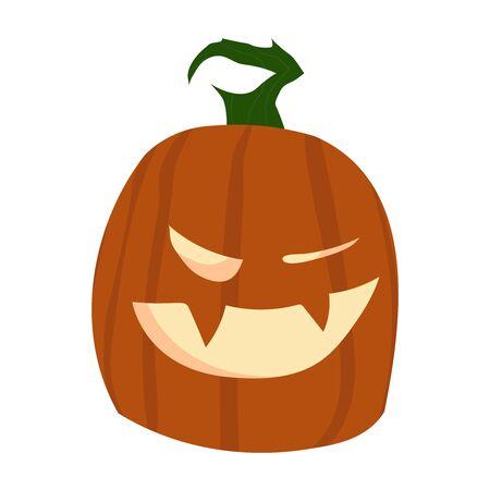 Halloween Pumpkin Funny and Cute.