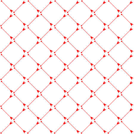 Valentines Day seamless holiday background for February 14. Vector illustration.